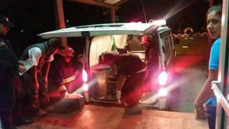 Fotografía: bomberos municipales