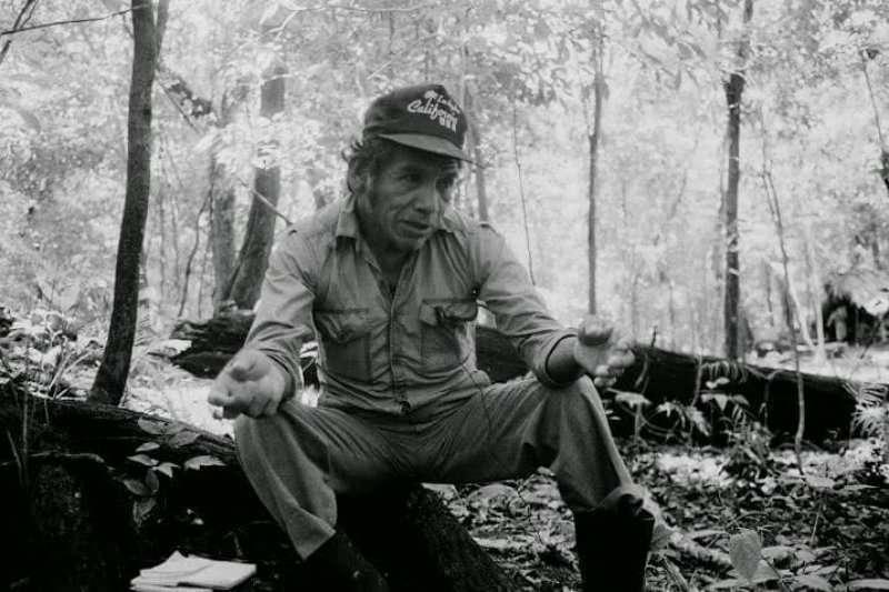 Celso Cuxil Sotz. Foto: John Donoghue. CPR- P. 1992