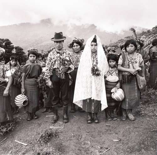Jonathan Moller, The marriage of Juan and Maria, Cabá, Communities of Population in Resistance (CPR) of the Sierra, Quiché, Guatemala, 1993