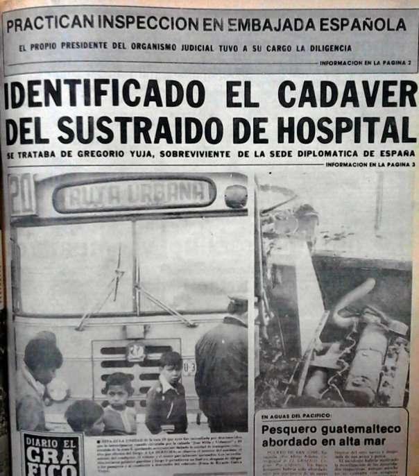 Foto: Nelton Rivera, hecha al Diario el Gráfico tomada de Archivo de la Hemeroteca Nacional.